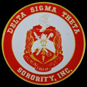 DST 2 3/4″ 3-D Stamped Aluminum Car Emblem