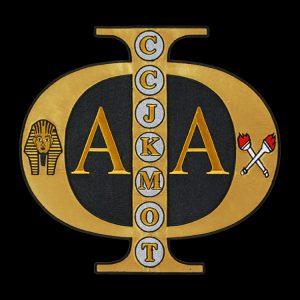 APA 3″W Tackle Twill Swag Emblem W/Heat Seal Backing