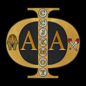 APA 10 1/2″W Tackle Twill Swag Emblem W/Heat Seal Backing