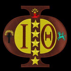 IPT 10 1/2″W Tackle Twill Swag Emblem W/Heat Seal Backing