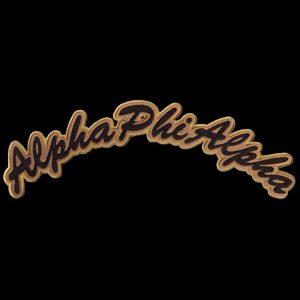 APA Rocker Emblem G/B W/Heat Seal Backing