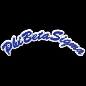 PBS Rocker Emblem R/W W/Heat Seal Backing