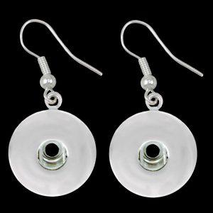 Earrings with Single Button Receiver
