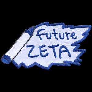 ZPB 5″ W Future Emblem W/Heat Seal Backing