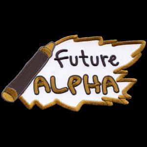 APA 5″ W Future Emblem W/Heat Seal Backing