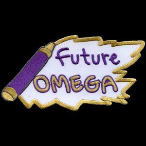 OPP 5″ W Future Emblem W/Heat Seal Backing
