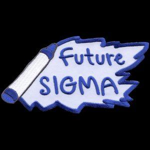 PBS 5″ W Future Emblem W/Heat Seal Backing