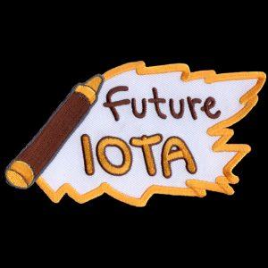 IPT 5″ W Future Emblem W/Heat Seal Backing
