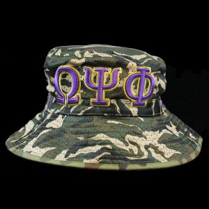 OPP Embroidered Camouflage Bucket Hat