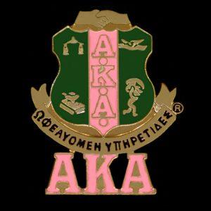 1″ AKA Shield Lapel Pin