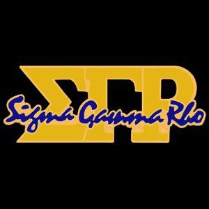 SGR 1″W Gold Signature Lapel Pin