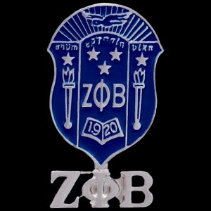 ZPB 1″T Shield Lapel Pin