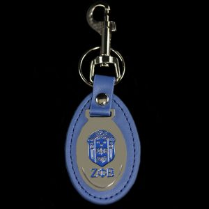 ZPB Leather Fob Key Chain