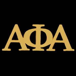 APA 1″ Gold Letters Lapel Pin