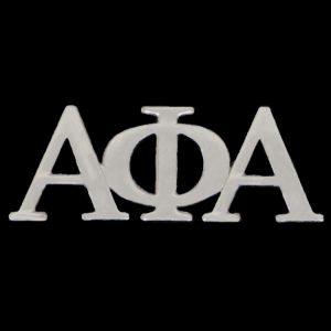 APA 1″ Silver Letters Lapel Pin
