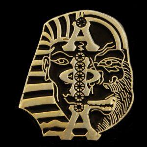 APA 1″ 1/2 Ape 1/2 Sphinx Lapel Pin