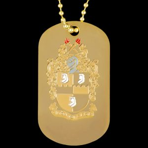 APA Gold Double-Sided Dogtag W/Chain