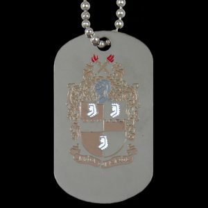 APA Silver Double-Sided Dogtag W/Chain