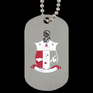 KAP Silver Double-Sided Dogtag W/Chain