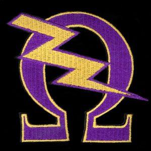OPP 2 3/4″T Que Bolt Emblem W/Heat Seal Backing