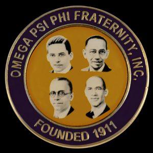 OPP 1 1/8″W Founders Lapel Pin In Gold