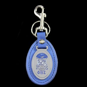 PBS Leather Fob Key Chain
