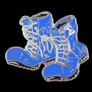 PBS Sigma Boots Lapel Pin 1″T x 1-1/2″