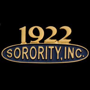 "SGR 1"" Sorority Inc Lapel Pin"