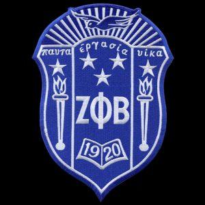 ZPB 2 7/8″ Shield Emblem W/Heat Seal Backing