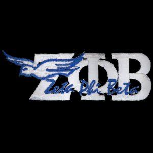 "ZPB 1 3/8"" White New Image Dove Emblem"
