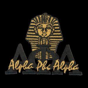 "APA 2 1/4"" Black New Image Sphinx Emblem"