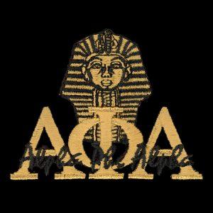"APA 2 1/4"" Gold New Image Sphinx Emblem"