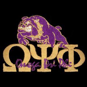 "OPP 2 1/4"" Gold New Image Bulldog Emblem"