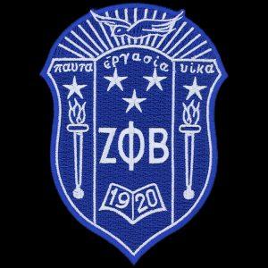 ZPB 5″ Shield Emblem W/Heat Seal Backing