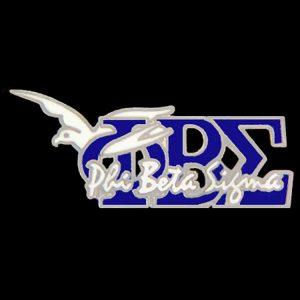 PBS W/Dove New Image Pin Royal