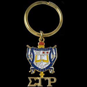 SGR Shield Key Chain 1-1/2 x 13/16″ (shield size only)