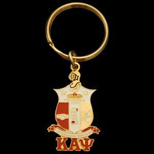 KAP Shield Key Chain 1-5/8 x 7/8″ (shield size only)