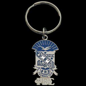 PBS Shield Key Chain 1-1/2 x 3/4″ (shield size only)