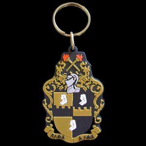 APA PVC Crest Key Chain