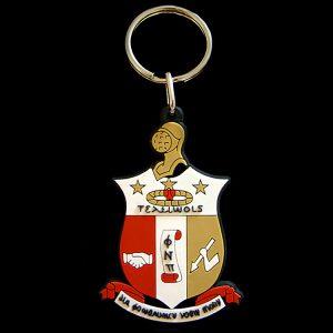 KAP Pvc Crest Key Chain