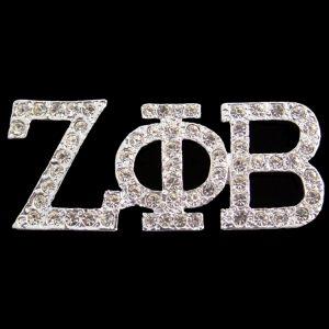 ZPB Austrian Crystal Silver Pin
