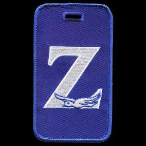ZPB Z W/Dove Luggage Tag