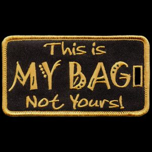 APA This Is My Bag Not Yours Luggage Tag