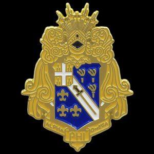 1 1/8″ APO Shield Lapel Pin