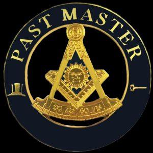 Mason Past Master Cut Out Car Tag