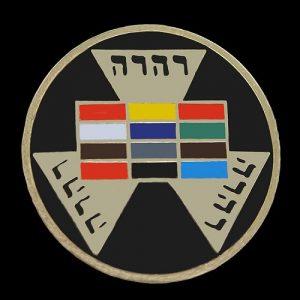 Mason Past High Priest Masonic Lapel Pin- 1″