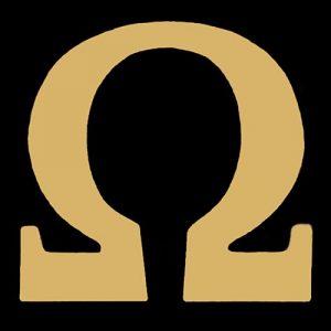 OPP 3/4″ Omega Gold Lapel Pin