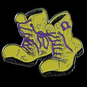 OPP Omega Boots Lapel Pin 1″T x 1-1/2″