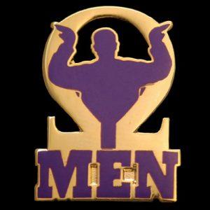 OPP 1″T Omega Men Pin