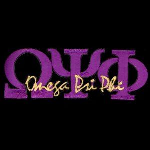 OPP 1 3/8″T Purple Signature Emblem W/Heat Seal Backing